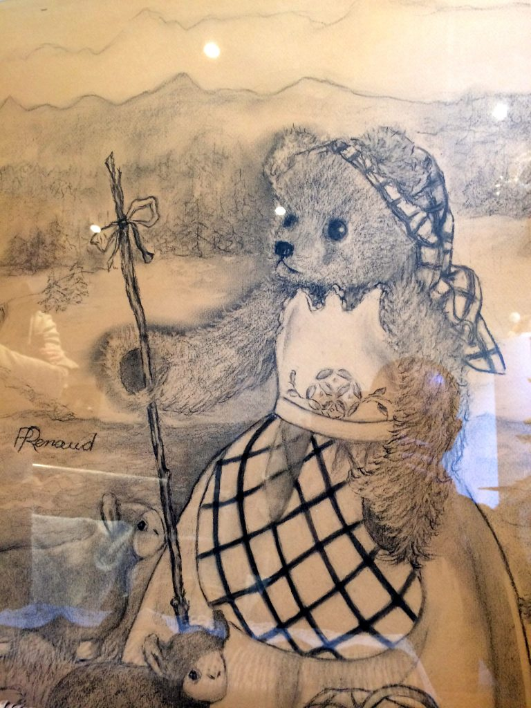 un-ours-en-ville-dessin-de-paulette-renaud