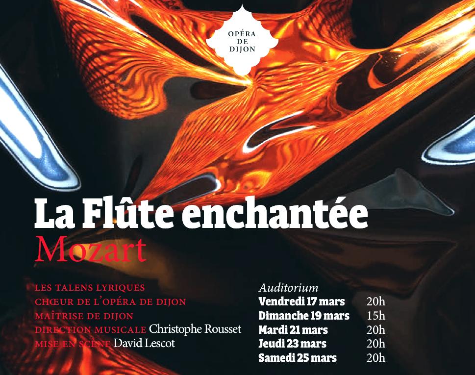 Opéra de Dijon – La Flûte enchantée