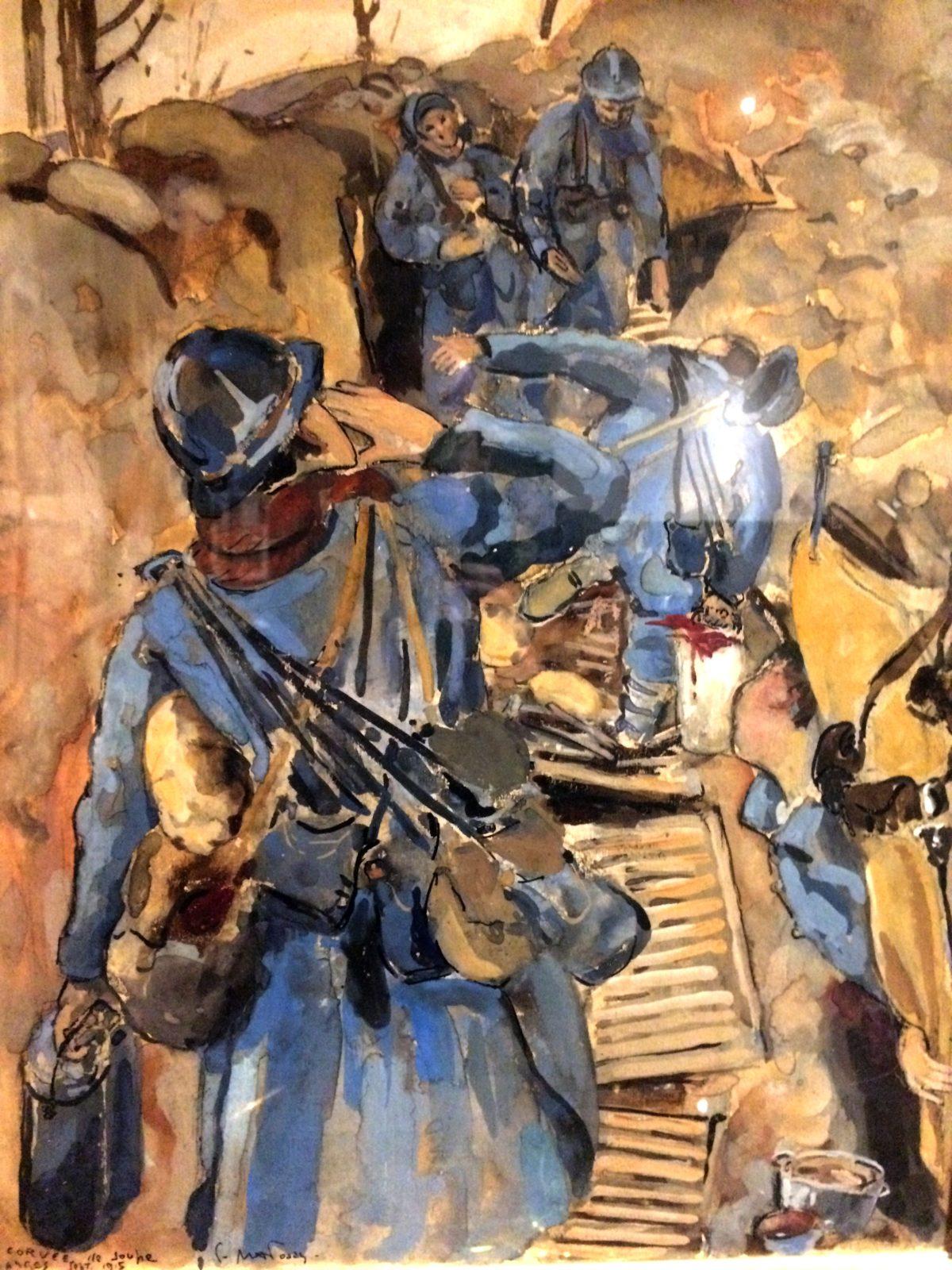 Exposition «L'art des tranchées» – Archives départementales de la Côte-d'Or – 8 rue Jeannin