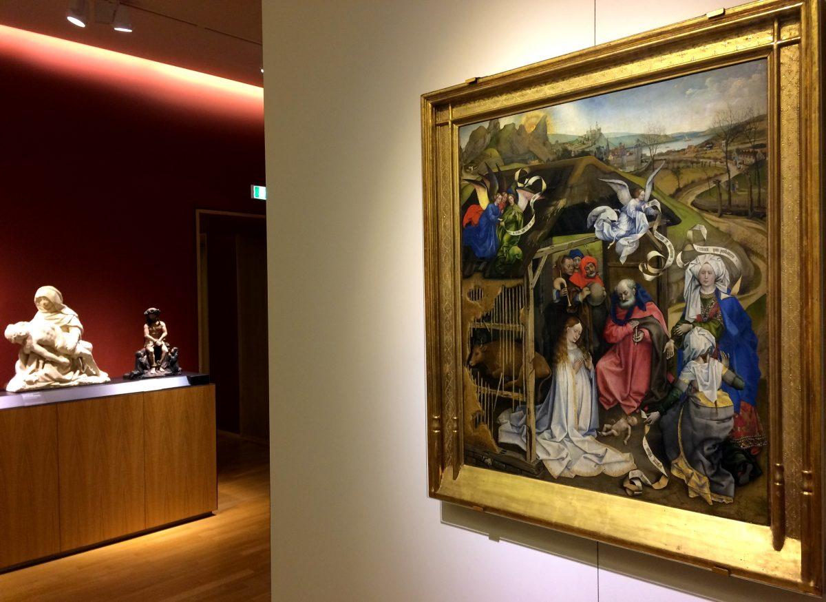 La Nativité du Maître de Flémalle – Musée des Beaux-Arts – Cour de Bar