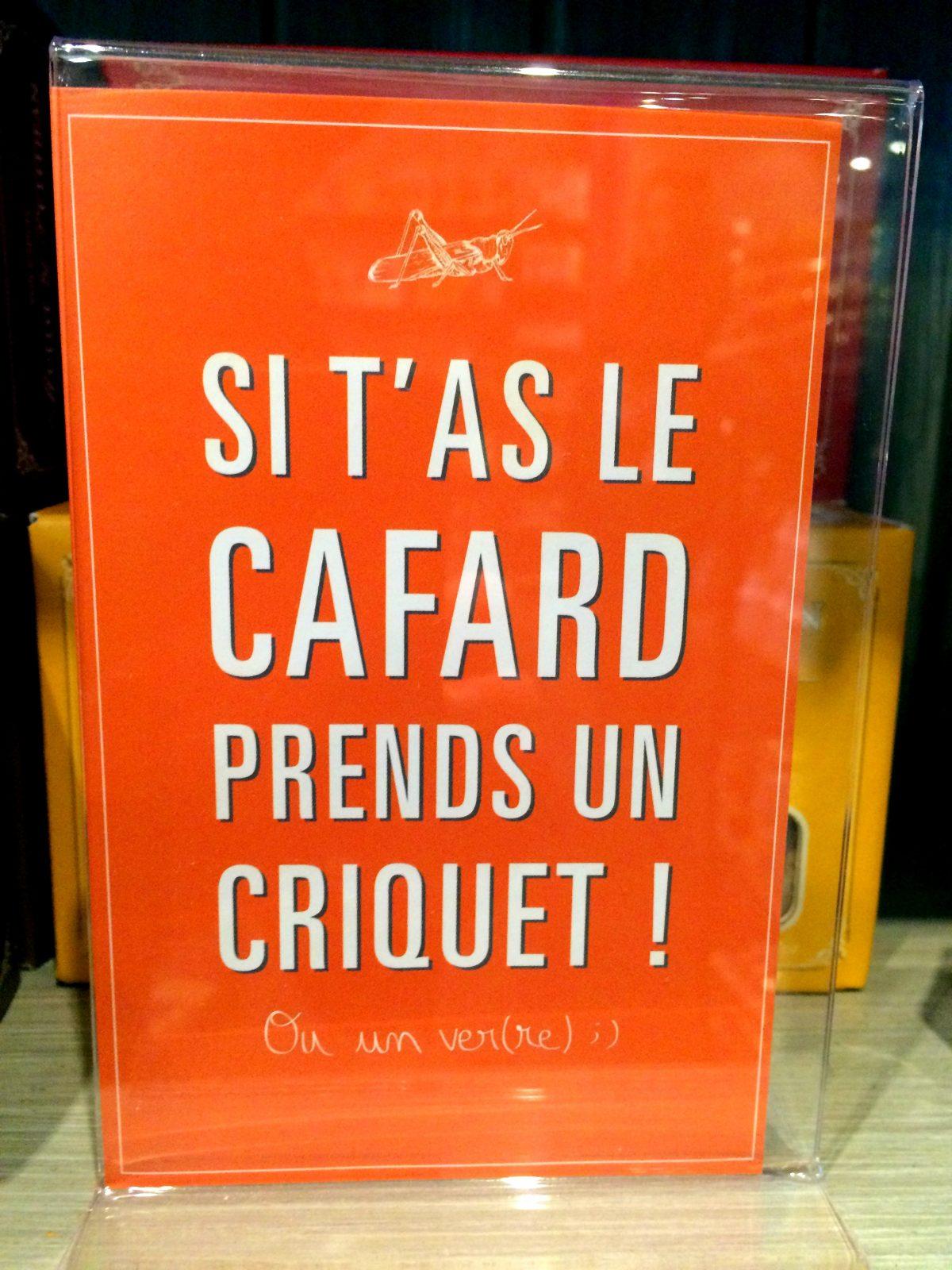 Grain de Cassis – 14 rue Rameau