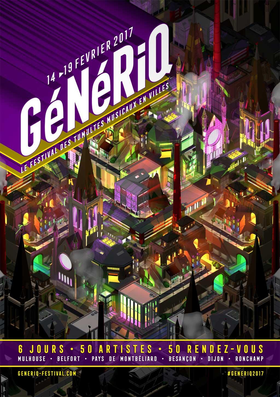 GéNéRiQ – Le festival des tumultes musicaux en villes