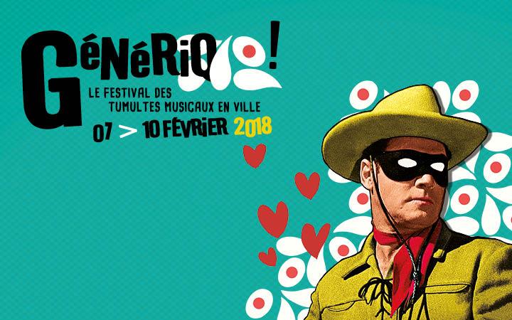 11e GéNéRiQ Festival – Le Festival des tumultes musicaux en ville